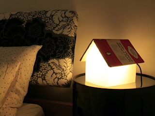 IdéeCadeau.fr Camera da lettoIlluminazione Plastica Bianco