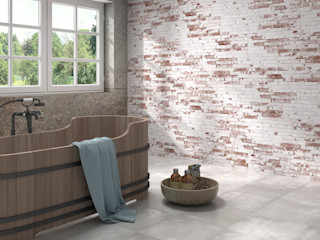 SANCHIS Industrial style bathroom Tiles Multicolored