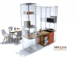 Frédéric TABARY Кухня Пластик Різнокольорові