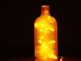 LAMPBADA DESIGN LAMP Interior landscaping Kaca Amber/Gold