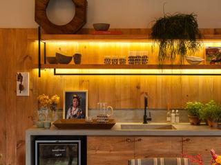 Marina Linhares Decoração de Interiores Salones de estilo tropical
