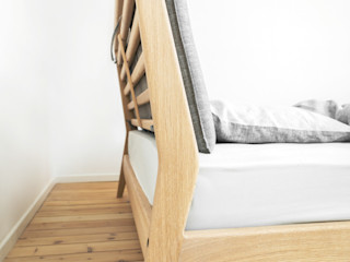 Furniture collection Loft Kolasinski SlaapkamerBedden en hoofdeinden Massief hout Hout