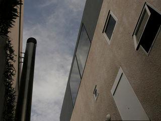 IR arquitectura Casas modernas Contraplacado Bege