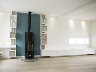 Yeme + Saunier Living room Wood Blue