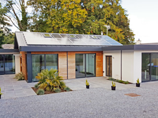 Schoolmasters modular eco house build different Modern houses