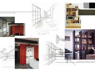 Kauri Architecture Moderne studeerkamer