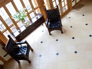 Private Residence - Essex Artisans of Devizes Dinding & Lantai Gaya Country Batu Kapur
