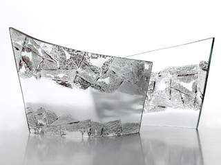 Sculptural Curves Michelle Keeling Glass アート彫刻