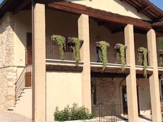 Studio Feiffer & Raimondi Rustic style houses