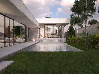 TNGNT arquitectos Kolam Renang Modern