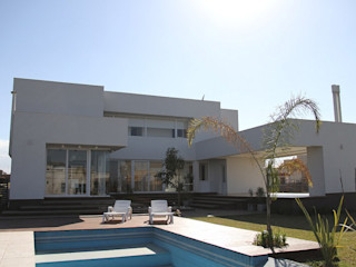 CB Design Casas modernas Blanco