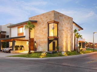 Imativa Arquitectos Casas modernas: Ideas, diseños y decoración Piedra Ámbar/Dorado