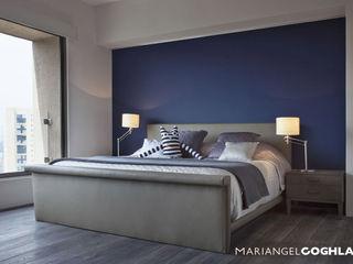 MARIANGEL COGHLAN Modern style bedroom Multicolored