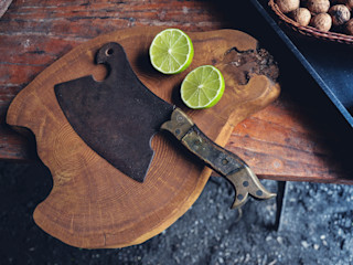 D2 Studio Cocinas de estilo escandinavo Madera