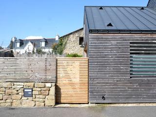 Bertin Bichet Minimalist house Wood