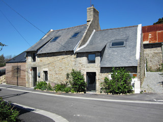 Bertin Bichet Minimalist house Stone