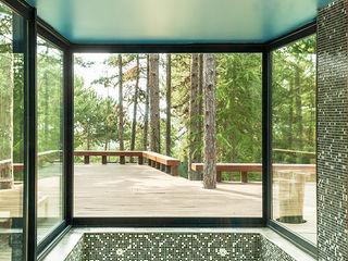 Casa Levene Luzestudio - Fotografía de arquitectura e interiores Piscinas de estilo industrial