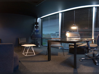 Estudio TYL Modern Study Room and Home Office