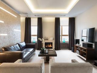 Ольга Райская Modern living room Beige