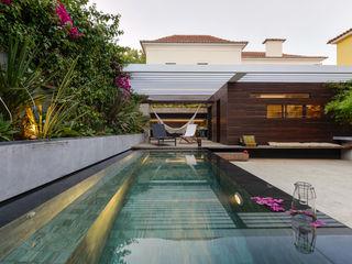 Ricardo Moreno Arquitectos Kolam Renang Modern