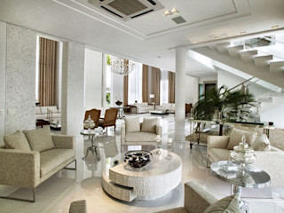 Bianka Mugnatto Design de Interiores Salones de estilo ecléctico