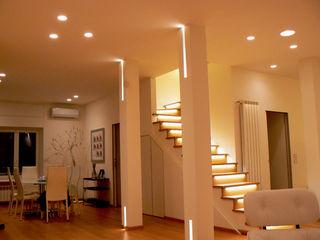 Abitazione privata - San Felice Lighting and... Ingresso, Corridoio & ScaleIlluminazione