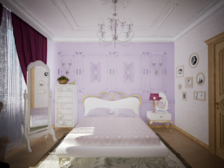 Decor&Design Stanza dei bambini in stile classico