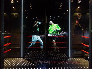 Ralph Lauren Holographic Window Display Cinimod Studio Комерційні простори Різнокольорові