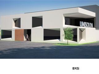 BXS arquitectos مكتب عمل أو دراسة