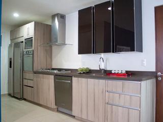 Avianda Kitchen Design Dapur Minimalis Kayu Buatan Wood effect