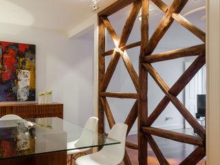 Apartamento São Caetano VSS ARQ Salas de jantar minimalistas