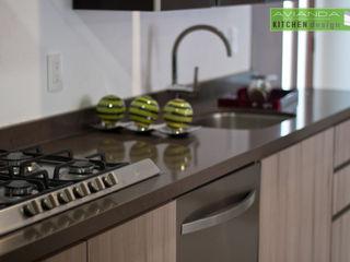Avianda Kitchen Design Dapur Modern Parket Wood effect