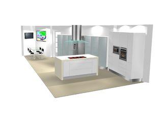 Architect Hugo Castro - HC Estudio Arquitectura y Decoración Modern Kitchen