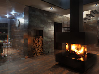 Jeżewska & Zakrawacz Modern Living Room