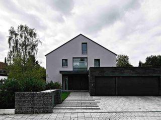 Fürst & Niedermaier, Architekten Casas modernas: Ideas, imágenes y decoración Piedra