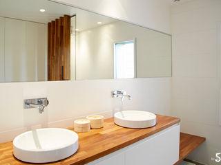 Emilie Bigorne, architecte d'intérieur CFAI Minimalist bathroom