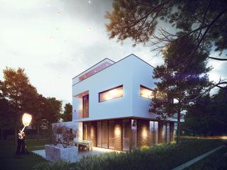 Vrijstaand woonhuis voor Elisabeth & Hugo Archivice Architektenburo