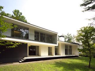 株式会社廣田悟建築設計事務所 Modern houses White