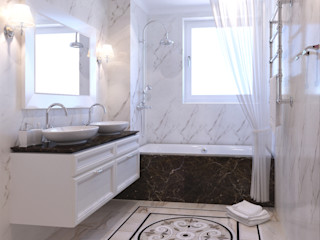 Insight Vision GmbH Classic style bathroom White