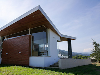 CB Design Casas modernas Ladrillos