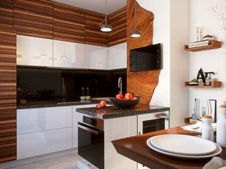 Yurii Hrytsenko Asian style kitchen