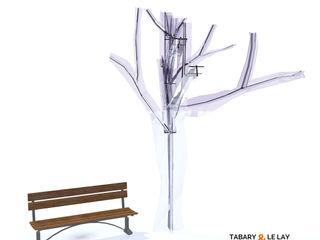 The invisible tree Frédéric TABARY Офісні приміщення та магазини Пластик Прозорий