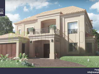 RSOarquitectos Colonial style house