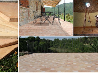 Self designed floor with a southern accent Terrecotte Europe Walls Tiles Brown