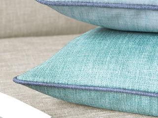 Indes Fuggerhaus Textil GmbH リビングルームアクセサリー&デコレーション テキスタイル ターコイズ