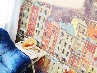 Дом дизайнера Порядок вещей - дизайн-бюро Гостиная в рустикальном стиле
