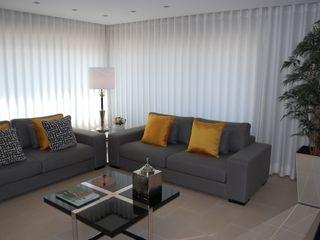 Critério Arquitectos by Canteiro de Sousa Eclectic style living room