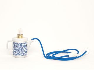 Lieselotte KeukenVerlichting Porselein Blauw