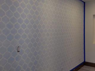 VIVAinteriores Minimalistyczny pokój dziecięcy Niebieski