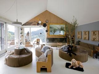 ECOchic BARASONA Diseño y Comunicacion Salones de estilo moderno